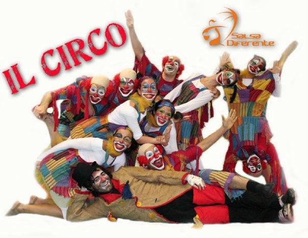 Dance Company Salsadiferente - 2006-07 Il circo