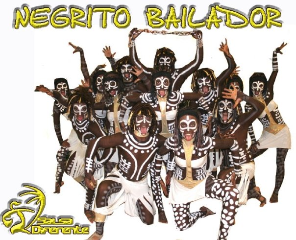 Dance Company Salsadiferente - 2007-08 Negrito bailador