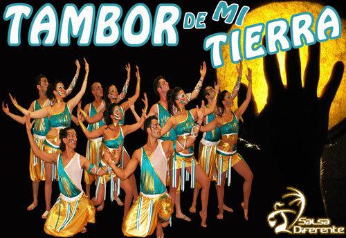 Dance Company Salsadiferente - 2010-11 Tambor de mi tierra