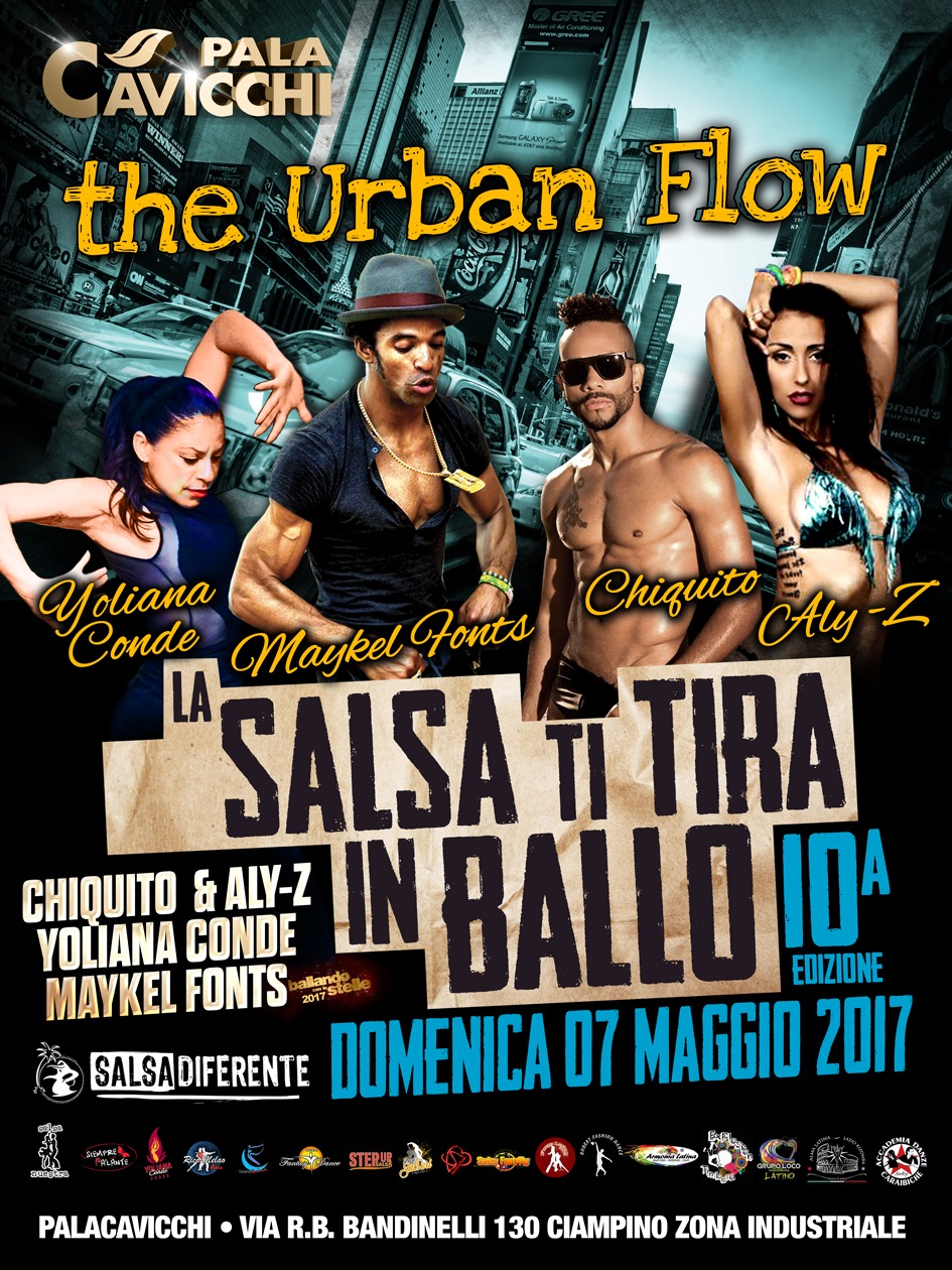 La SALSA ti TIRA in BALLO 2017